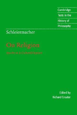 On Religion by Friedrich Schleiermacher