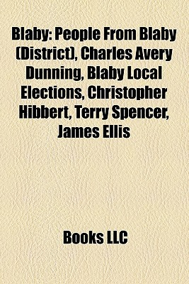 Blaby: People From Blaby (District), Charles Avery Dunning, Blaby Local Elections, Christopher Hibbert, Terry Spencer, James Ellis