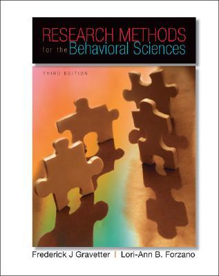 Research methods for the behavioral sciences by frederick j gravetter 4154347 fandeluxe Gallery