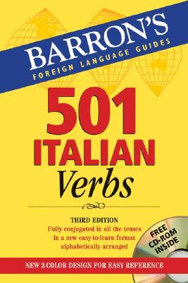 501 Italian Verbs: with CD-ROM (Barrons Foreign Language Guides) (Italian and English Edition)