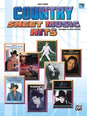 Country Sheet Music Hits
