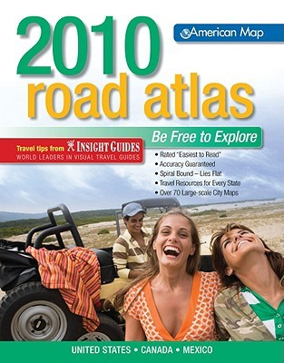 American Map United States Road Atlas 2010 Midsize (Road Atlas: United States, Canada, Mexico)