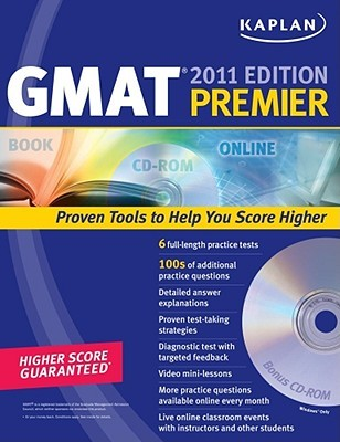 Kaplan GMAT 2011 Premier with CD-ROM