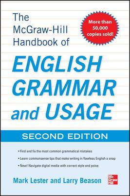 The mcgraw hill handbook of english grammar and usage by mark lester fandeluxe Images