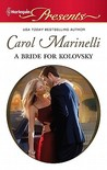 A Bride for Kolovsky (House of Kolovsky #5)