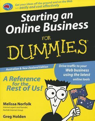 Starting An Online Business For Dummies,Australian& New Zealand Edition