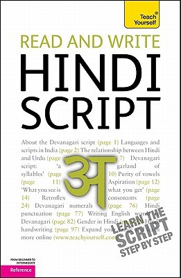 Read and Write Hindi Script by Rupert Snell