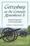 Gettysburg as the Generals Remembered It: Postwar Perspectives of Ten Commanders