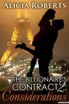 Considerations (The Billionaire's Contract, #2)