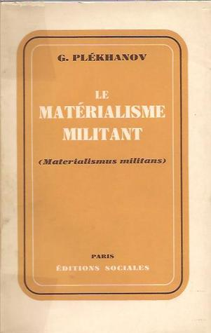 Materialismus Militans: Reply to Mr Bogdanov