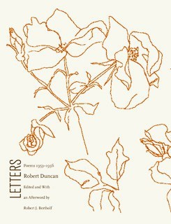 Letters by Robert Duncan