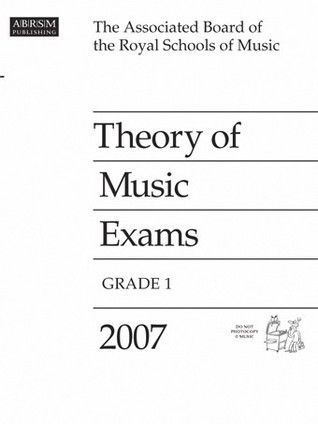 Theory of Music Exams, Grade 1, 2007