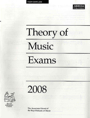 Theory of Music Exams, Grade 1, 2008