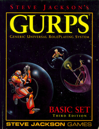 GURPS Basic Set by Steve Jackson