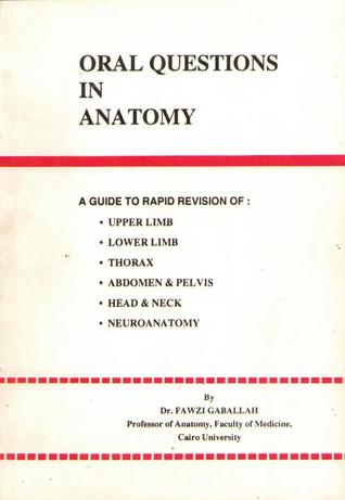 Oral Questions in Anatomy by Fawzi Gaballah