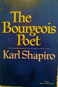 The Bourgeois Poet