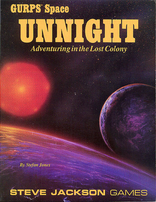 GURPS Space Unnight: Adventuring in the Lost Colony