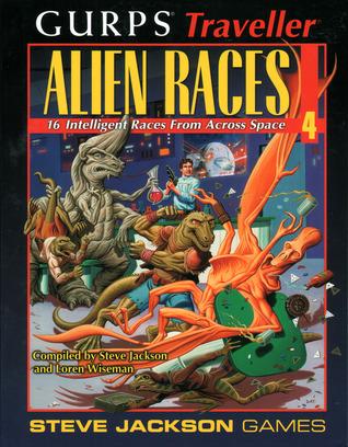 GURPS Traveller Alien Races 4: 16 Intelligent Races From Across Space