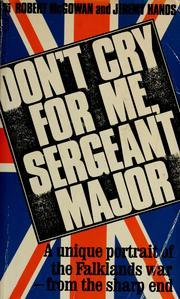 Don't Cry for Me, Sergeant-Major