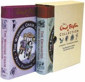 Enid Blyton 2 Volumes Collection: The Enchanted Wood Collection & The Wishing Chair Collection