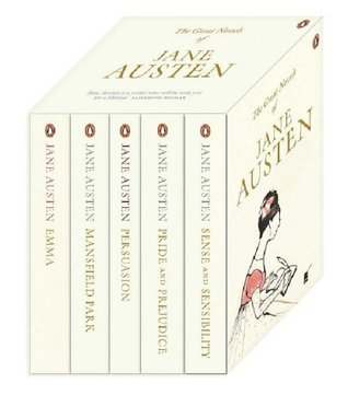 jane austen boxed set persuasion pride and prejudice sense  920015