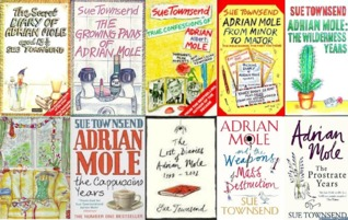 Image result for adrian mole books