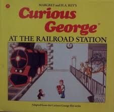 Curious George at the Railroad Station