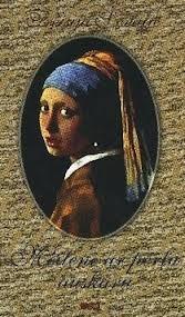 Meitene ar pērļu auskaru