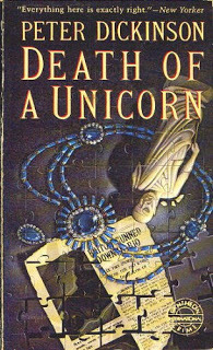 Death of a Unicorn by Peter Dickinson