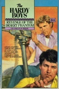Revenge of the Desert Phantom (Hardy Boys, #84)