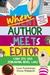 When Author Meets Editor: Cara Jitu Jadi Pengarang Novel Laku