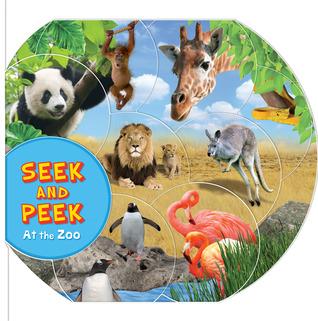 Seek & Peek: Amazing Animals