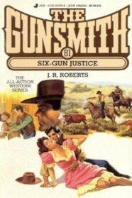 Online free books no download Six-Gun Justice (The Gunsmith, #81) by J.R. Roberts in Danish DJVU