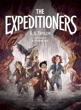 The Expeditioners and the Treasure of Drowned Mans Canyon(The Expeditioners 1)