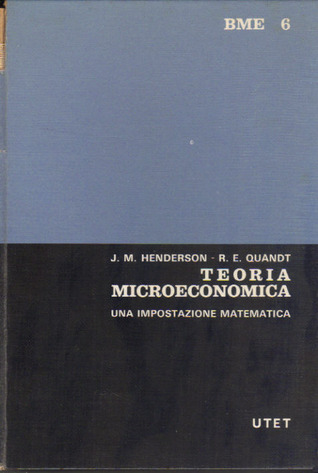 Henderson Quandt Microeconomic Theory Pdf