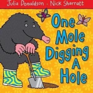 One Mole Digging A Hole