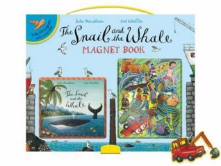 The Snail and the Whale Magnet Book por Julia Donaldson