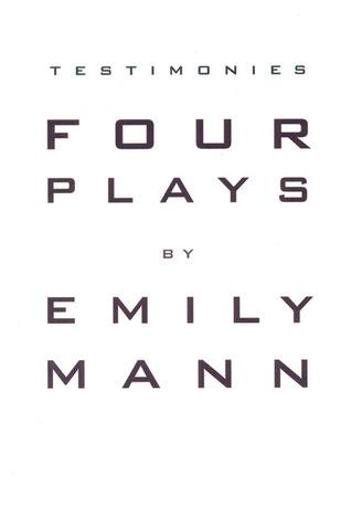 Testimonies: Four Plays