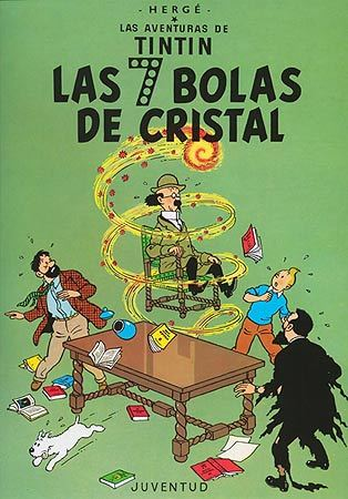 Las aventuras de Tintín: Las siete bolas de cristal (Tintin, #13) par Hergé
