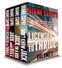Licensed to Thrill: Volume 1 (Hunt For Reacher, #1-3)