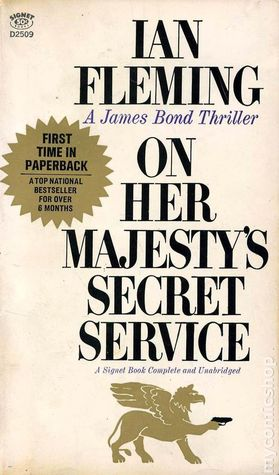 Image result for on her majesty's secret service book