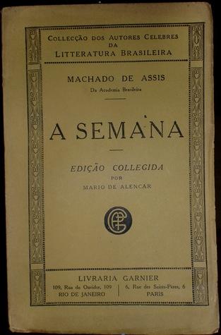 A Semana: Cronicas, 1892-1893