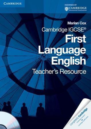 Cambridge Igcse First Language English Teacher's Resource Book [With CDROM]
