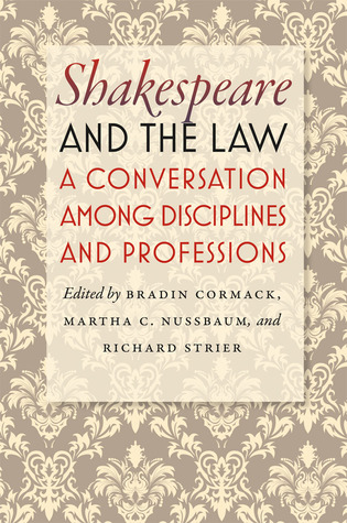 Shakespeare and the Law: A Conversation among Disciplines and Professions EPUB