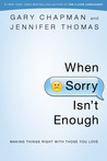 When Sorry Isn't ...