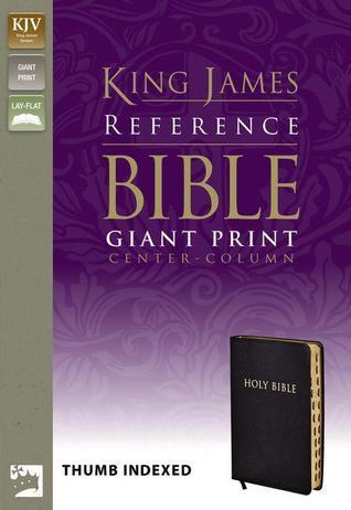 Holy Bible: King James Giant Print Center-Column Reference Bible
