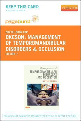 Management of Temporomandibular Disorders and Occlusion - Elsevier eBook on Vitalsource