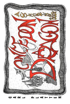 Once Upon a Dragon: A Colouring Book