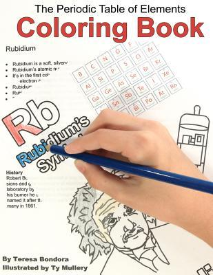 The periodic table of elements coloring book by teresa bondora 15879958 urtaz Image collections