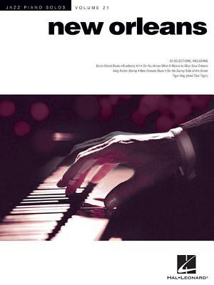 New Orleans Jazz Piano Solos: Jazz Piano Solos Volume 21